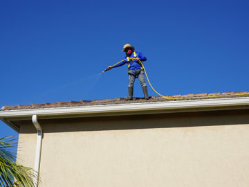 Soft Wash Roof Cleaning Pressure Klean Solutions Miami
